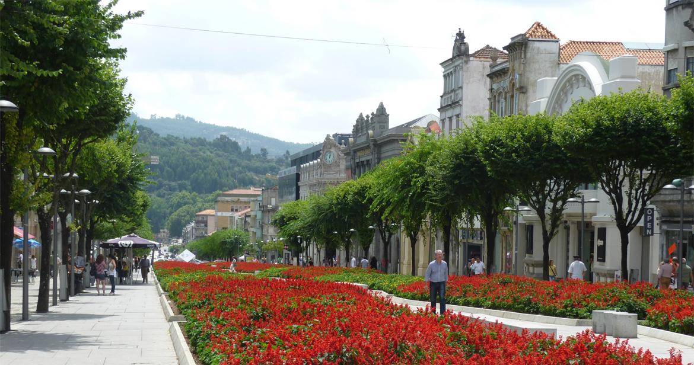 La ville Braga Potugal.